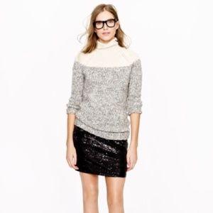 J. Crew Sequin skirt